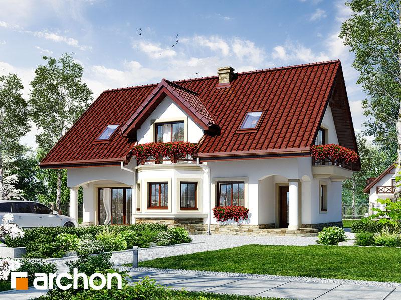 Проект дома ARCHON+ Дом в майоране 2 вер.2 Вид 1