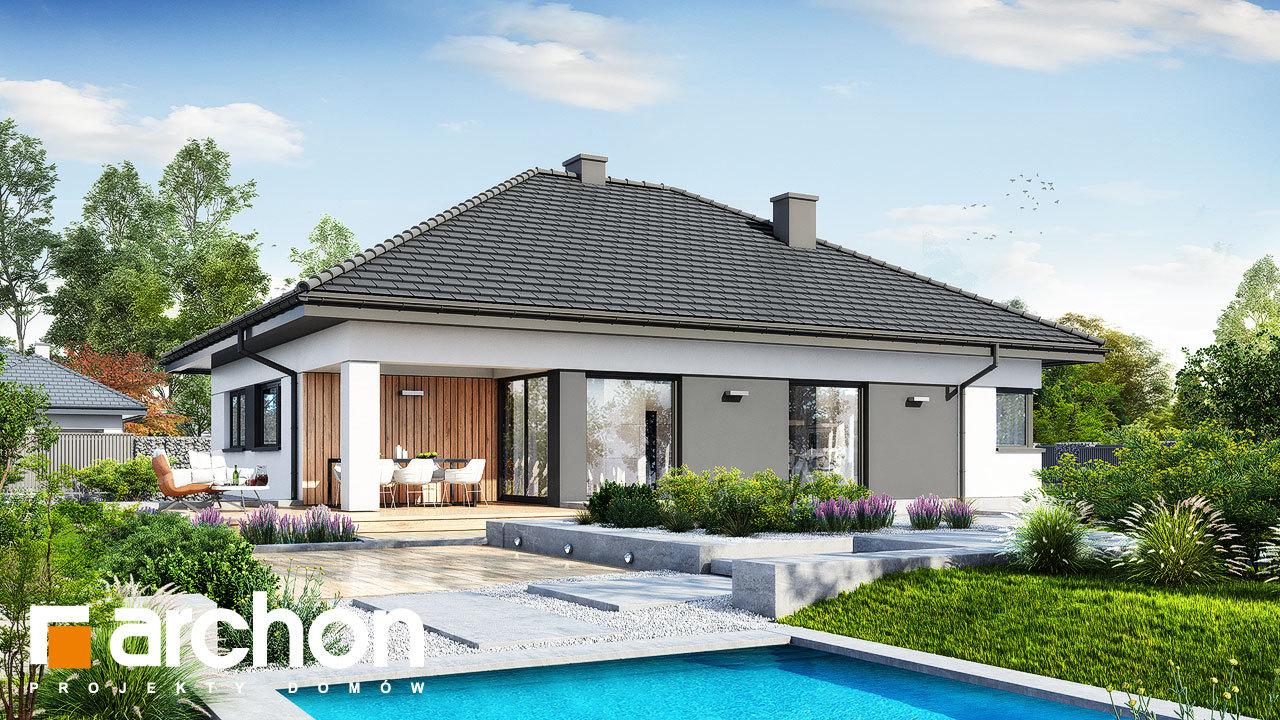 Проект будинку ARCHON+ Будинок в ренклодах 20