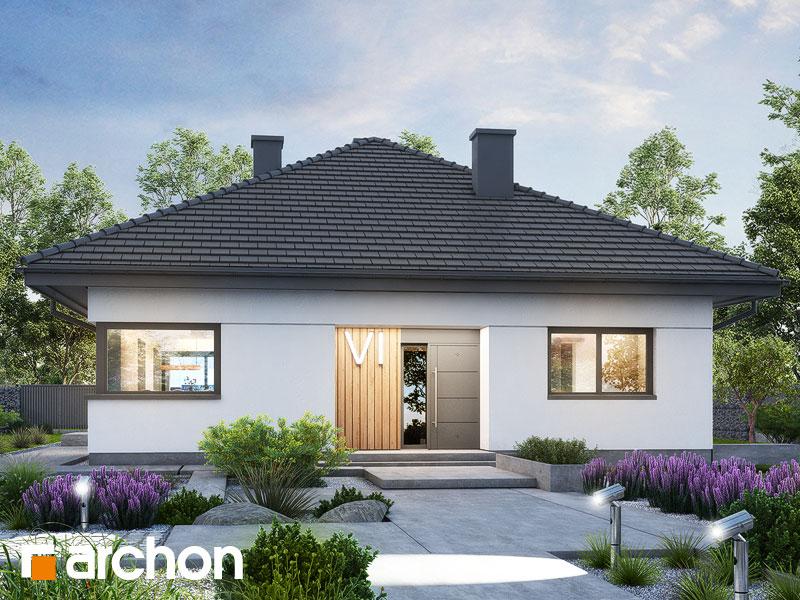 Проект будинку ARCHON+ Будинок в ренклодах 20 Вид 1