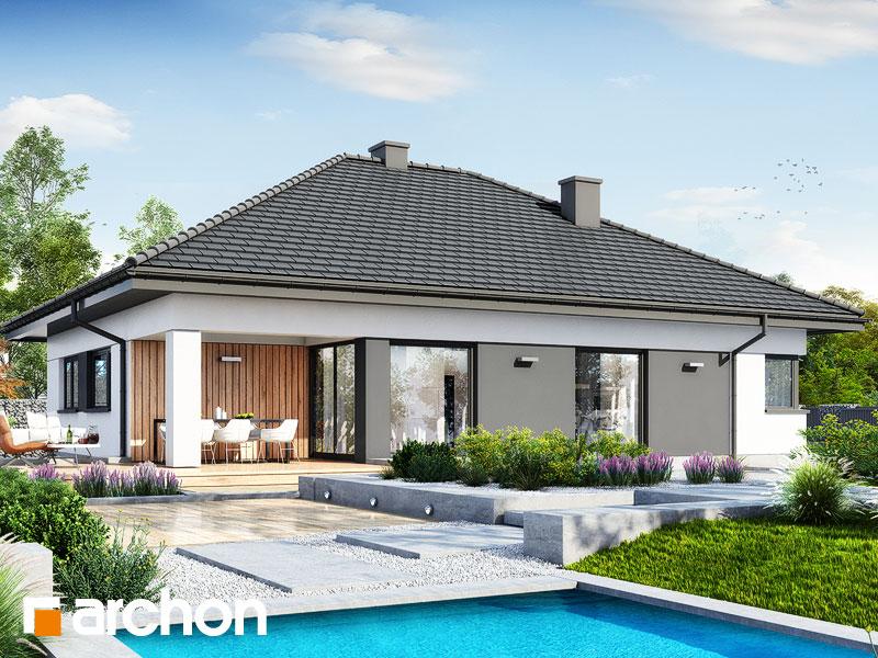 Проект будинку ARCHON+ Будинок в ренклодах 20 Вид 2
