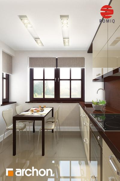 Проект будинку ARCHON+ Будинок в абрикосах аранжування кухні 1 від 3