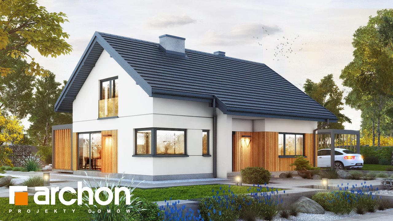 Проект будинку ARCHON+ Будинок під липкою 2 додаткова візуалізація