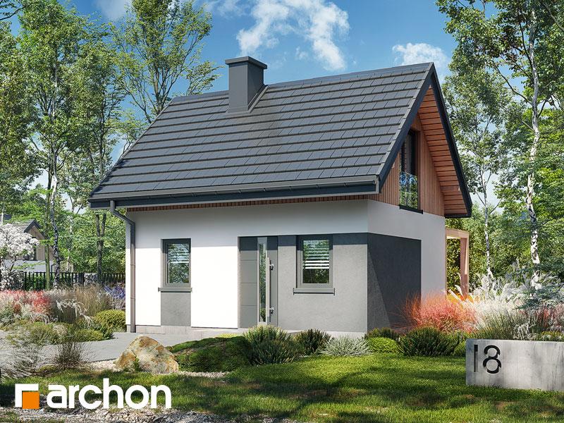 Проект будинку ARCHON+ Літній будиночок в крокусах 5 Вид 2