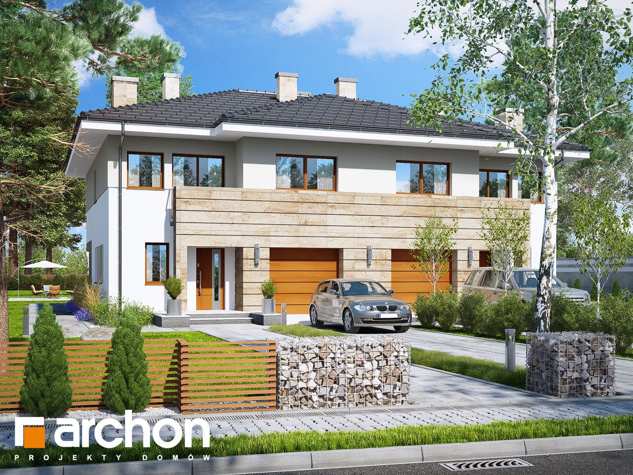 Проект будинку ARCHON+ Вілла Юлія 4