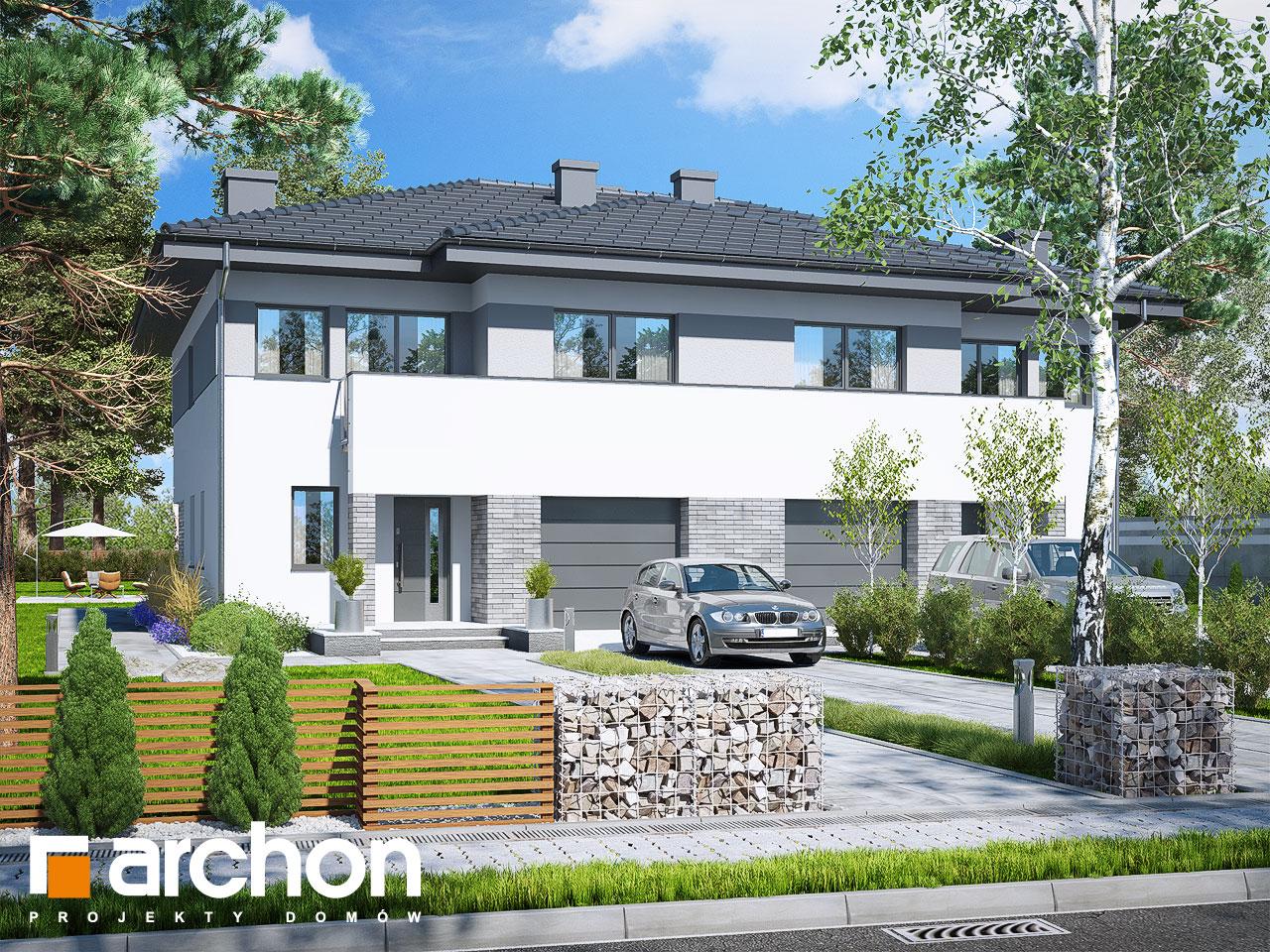 Проект будинку ARCHON+ Вілла Юлія 4 стилізація 3
