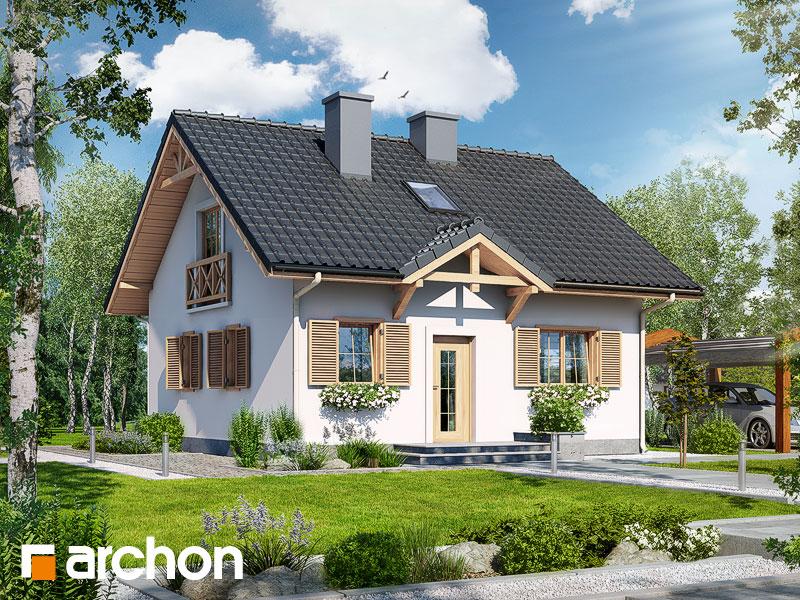 Проект будинку ARCHON+ Будинок — Мініатюрка (Т) Вид 1
