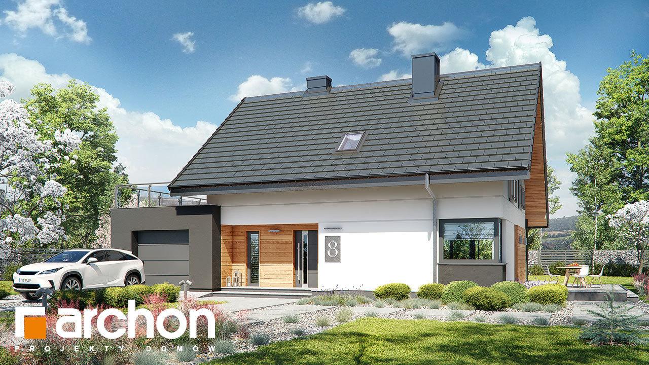 Проект будинку ARCHON+ Будинок в малинівці (Г)