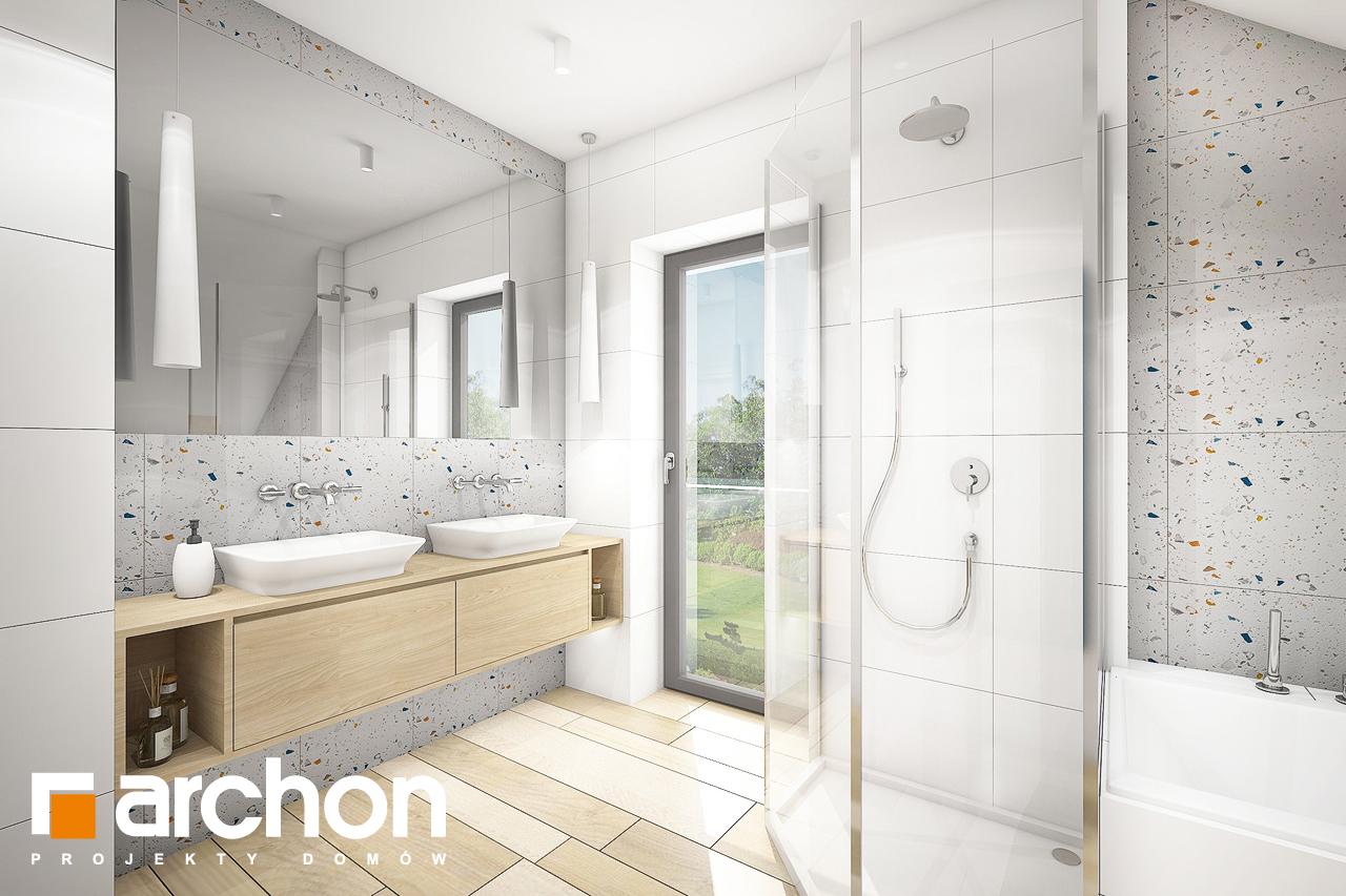 Проект будинку ARCHON+ Будинок в малинівці (Г) візуалізація ванни (візуалізація 3 від 1)