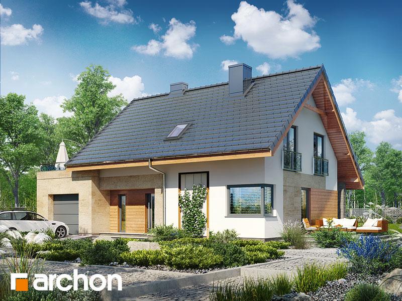 Проект будинку ARCHON+ Будинок в малинівці (Г) стилізація 3