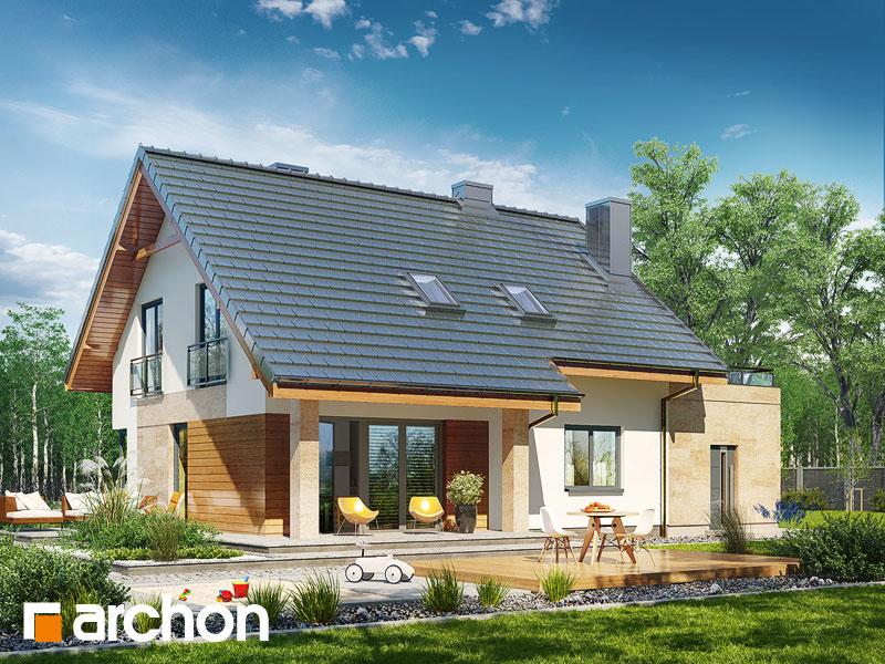 Проект будинку ARCHON+ Будинок в малинівці (Г) стилізація 4