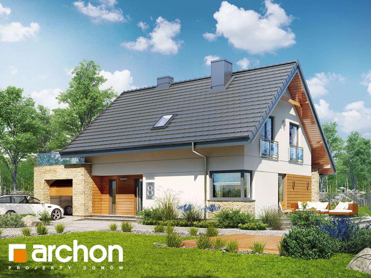 Проект будинку ARCHON+ Будинок в малинівці (Г) стилізація 5