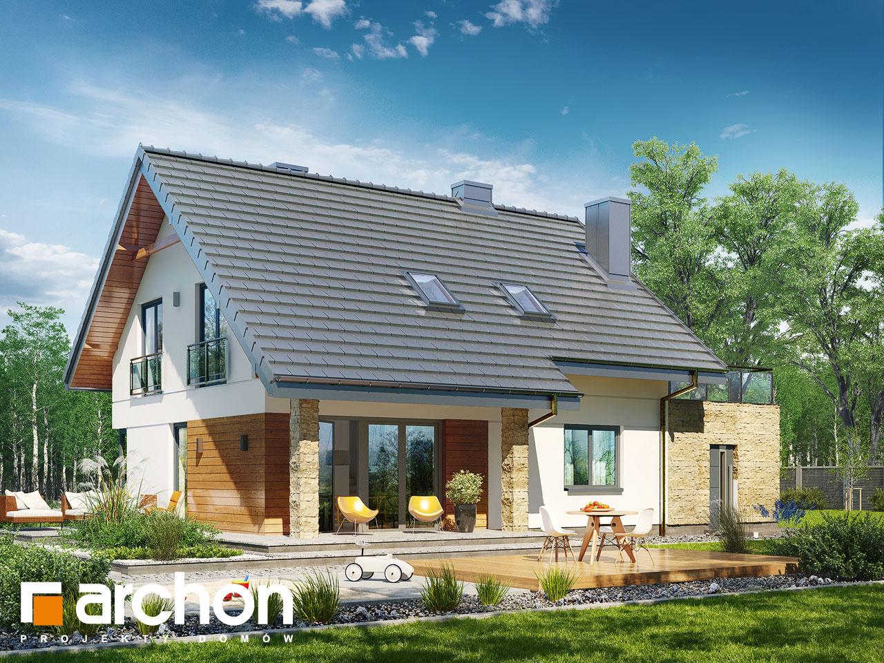 Проект будинку ARCHON+ Будинок в малинівці (Г) стилізація 6