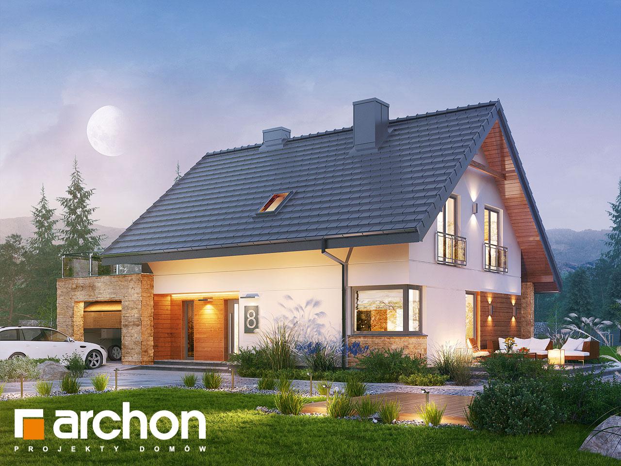 Проект будинку ARCHON+ Будинок в малинівці (Г) стилізація 7