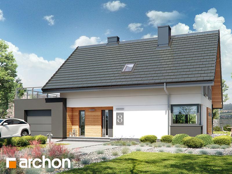 Проект будинку ARCHON+ Будинок в малинівці (Г) Вид 1