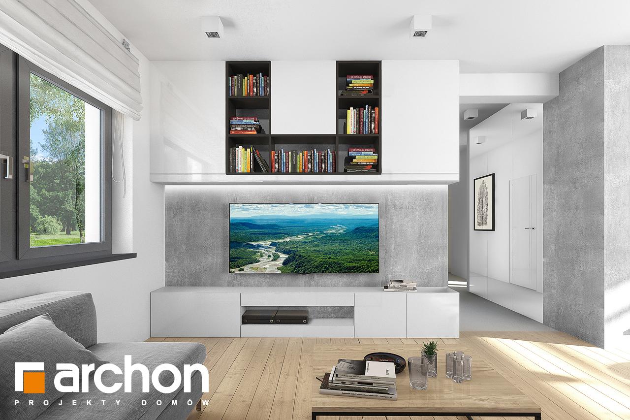 Проект будинку ARCHON+ Будинок під хікорою 2 денна зона (візуалізація 1 від 1)