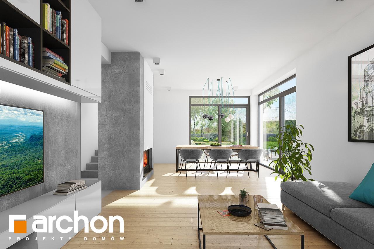 Проект будинку ARCHON+ Будинок під хікорою 2 денна зона (візуалізація 1 від 2)