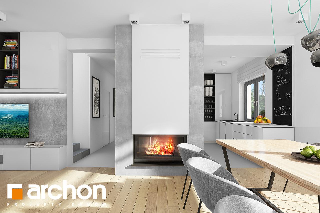 Проект будинку ARCHON+ Будинок під хікорою 2 денна зона (візуалізація 1 від 3)