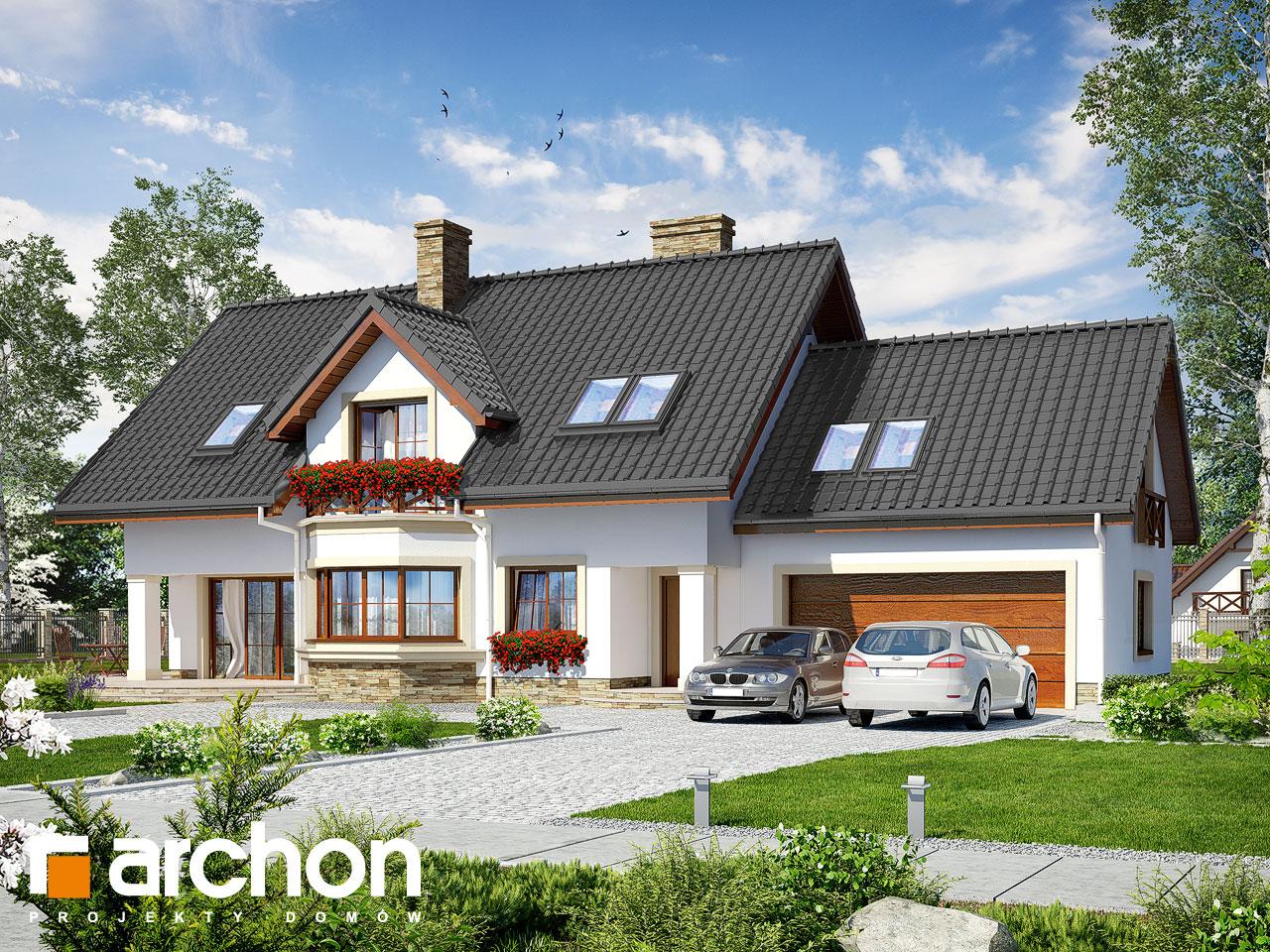 Проект будинку ARCHON+ Будинок в майорані 2 (Г2) Вид 2