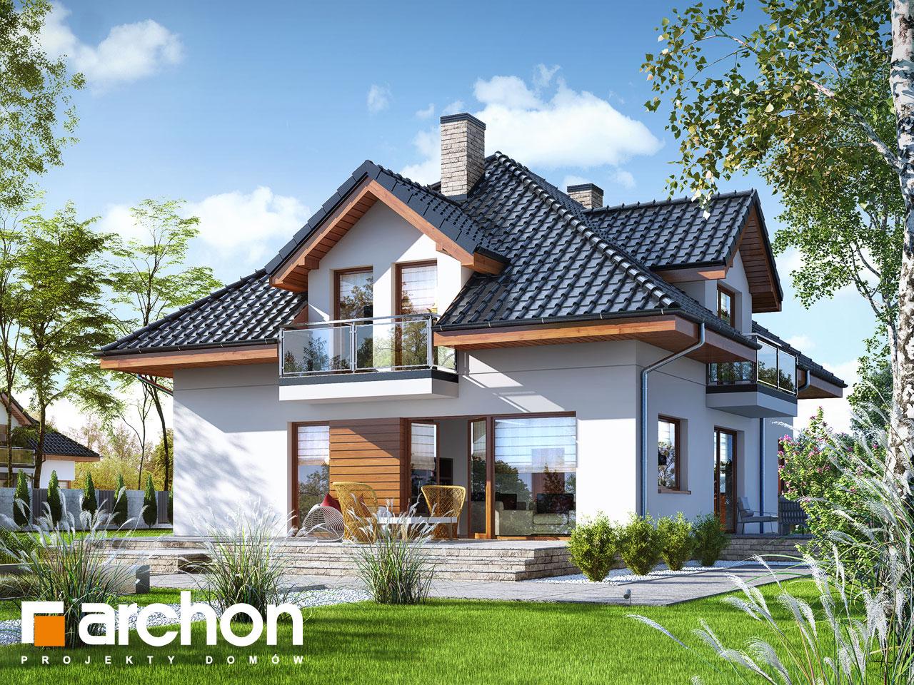 Проект будинку ARCHON+ Будинок в сансев'єріях додаткова візуалізація