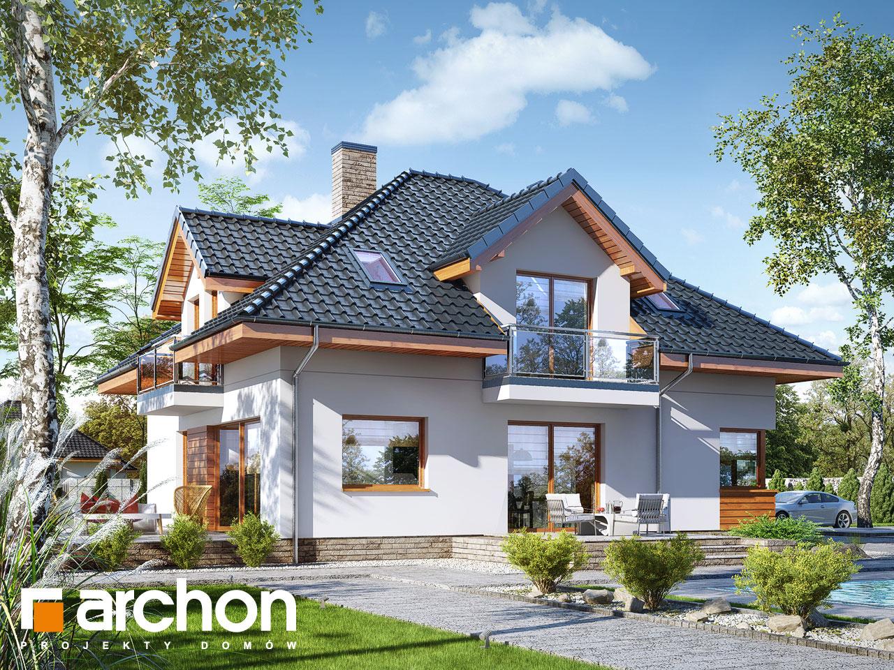 Проект будинку ARCHON+ Будинок в сансев'єріях Вид 2