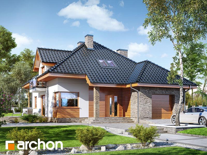 Проект будинку ARCHON+ Будинок в сансев'єріях Вид 1