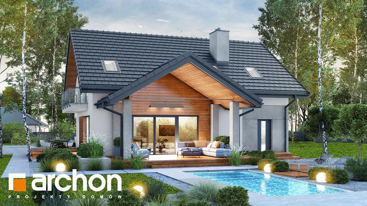Проект дома ARCHON+ Дом в аурорах 7