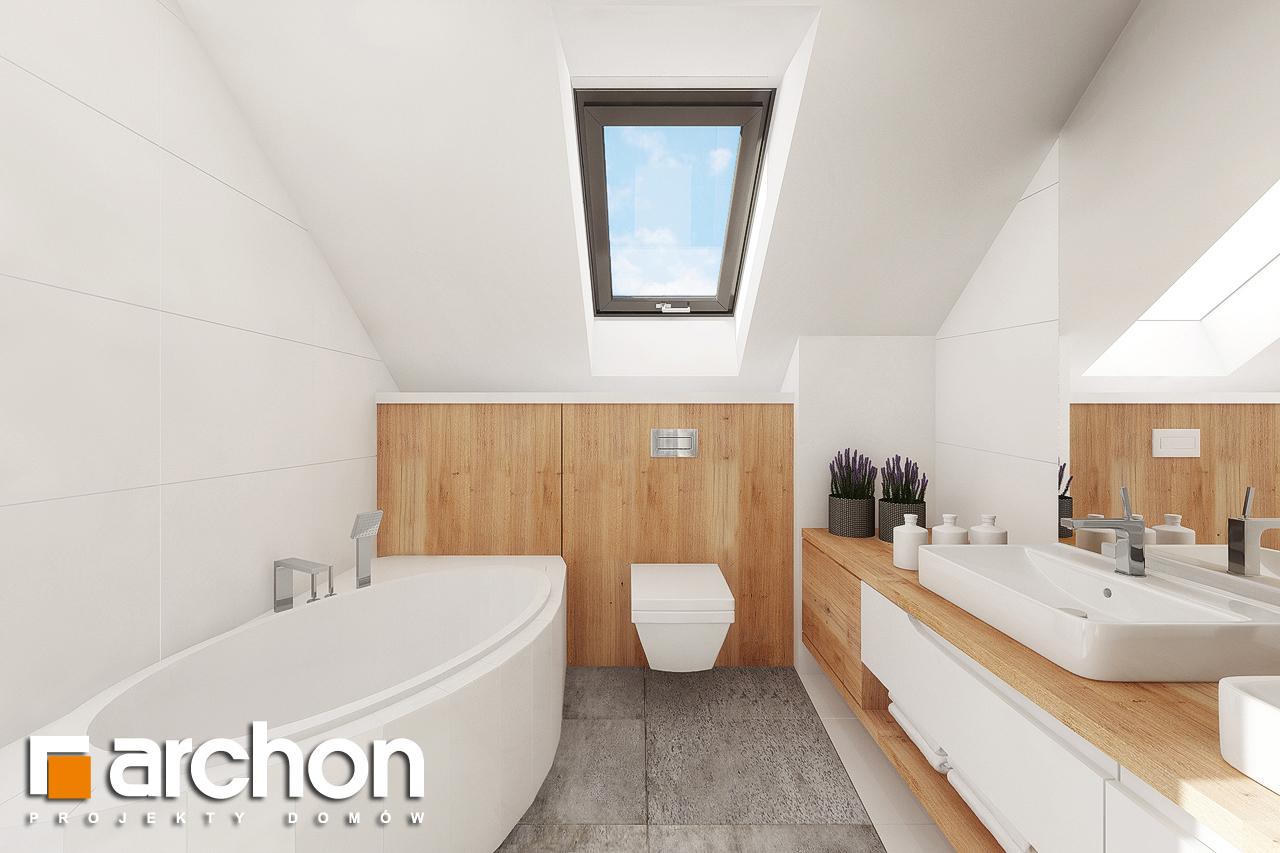 Проект будинку ARCHON+ Будинок в аурорах 7 візуалізація ванни (візуалізація 3 від 2)