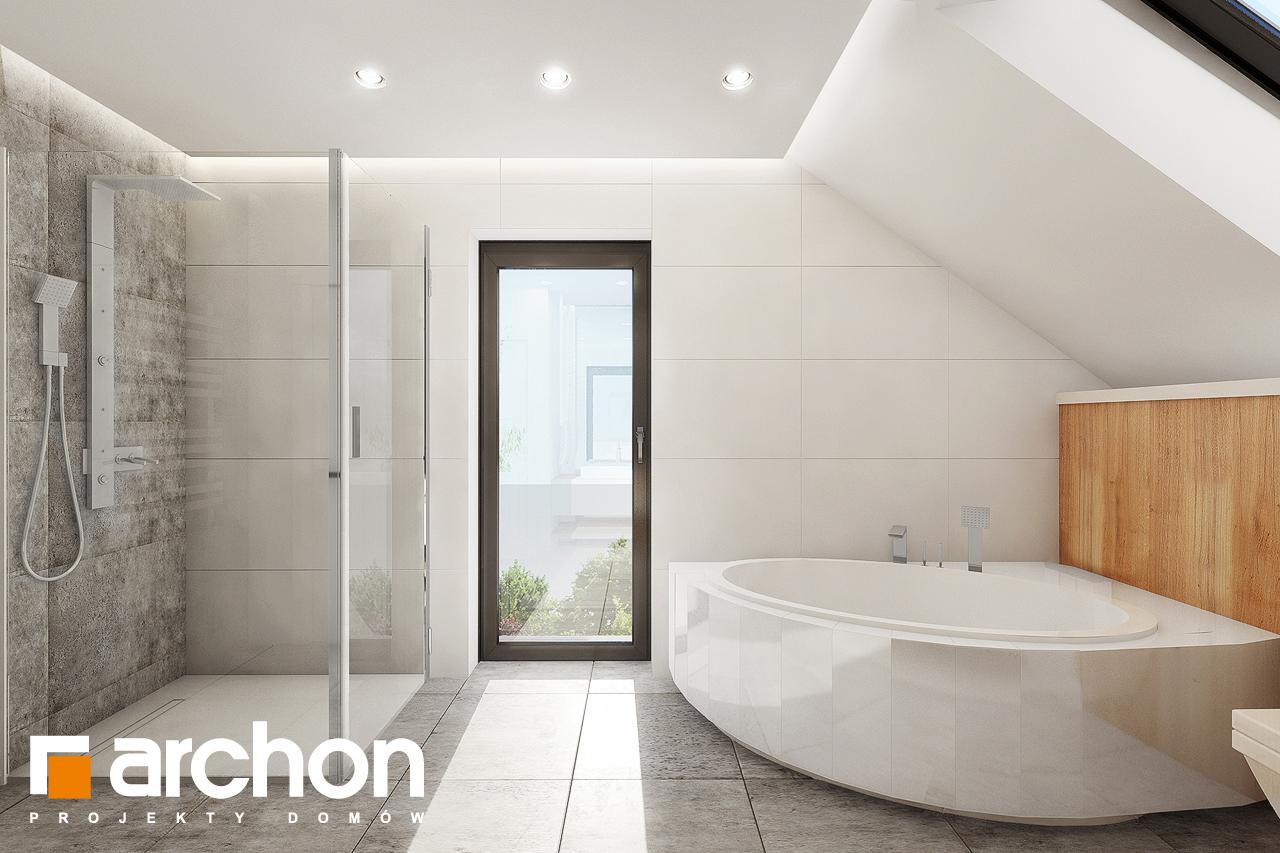 Проект будинку ARCHON+ Будинок в аурорах 7 візуалізація ванни (візуалізація 3 від 4)