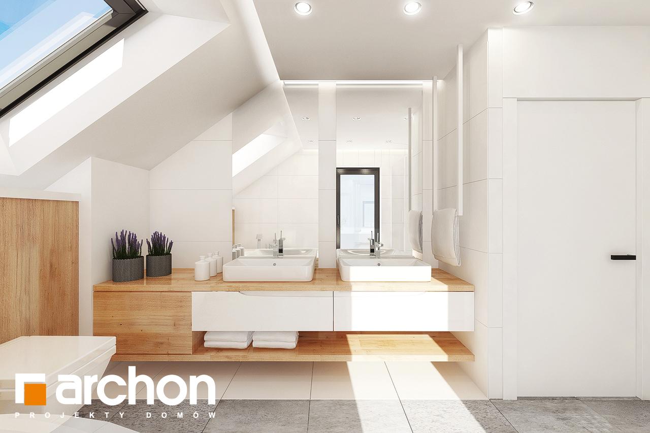 Проект дома ARCHON+ Дом в аурорах 7 визуализация ванной (визуализация 3 вид 1)