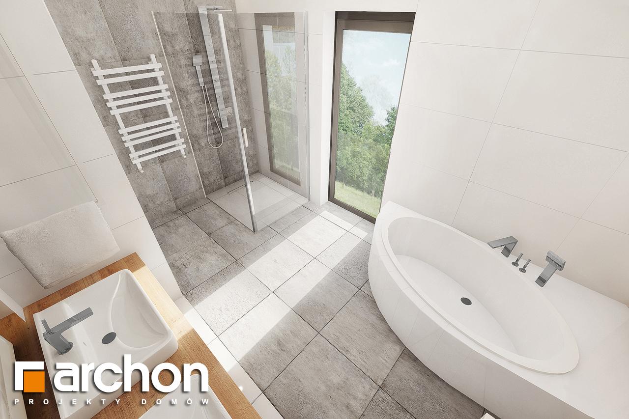 Проект дома ARCHON+ Дом в аурорах 7 визуализация ванной (визуализация 3 вид 3)
