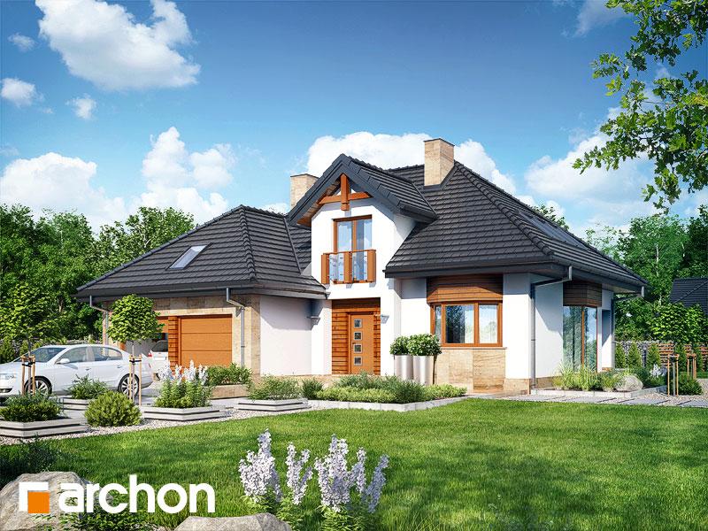 Проект будинку ARCHON+ Будинок в каллатеях 2 вер.2 додаткова візуалізація