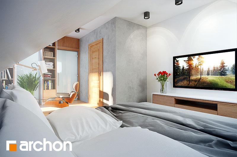 Проект будинку ARCHON+ Будинок в каллатеях 2 ver.2 нічна зона (візуалізація 1 від 1)