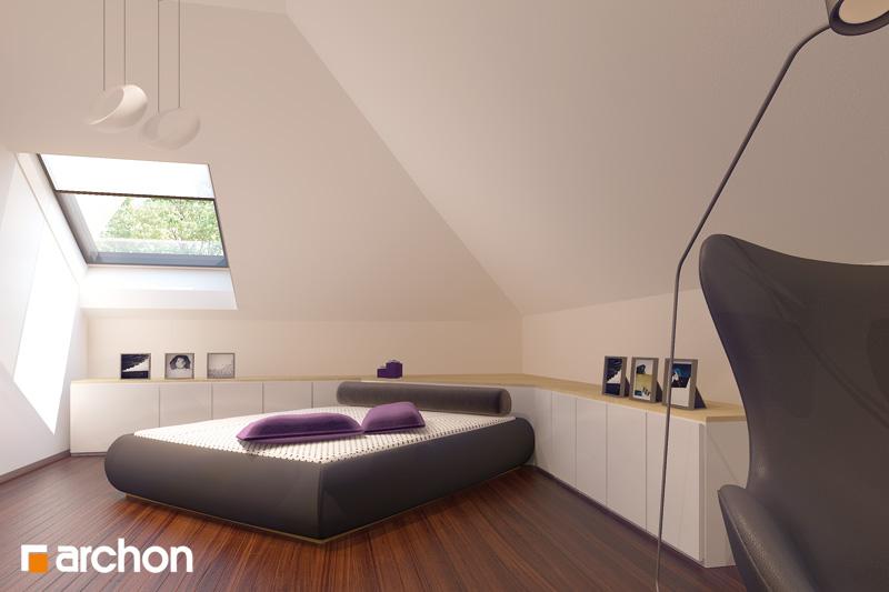 Проект будинку ARCHON+ Будинок в каллатеях 2 ver.2 нічна зона (візуалізація 2 від 4)