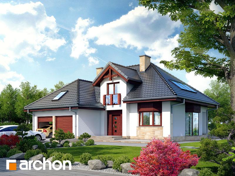 Проект будинку ARCHON+ Будинок в каллатеях 2 ver.2 Вид 1