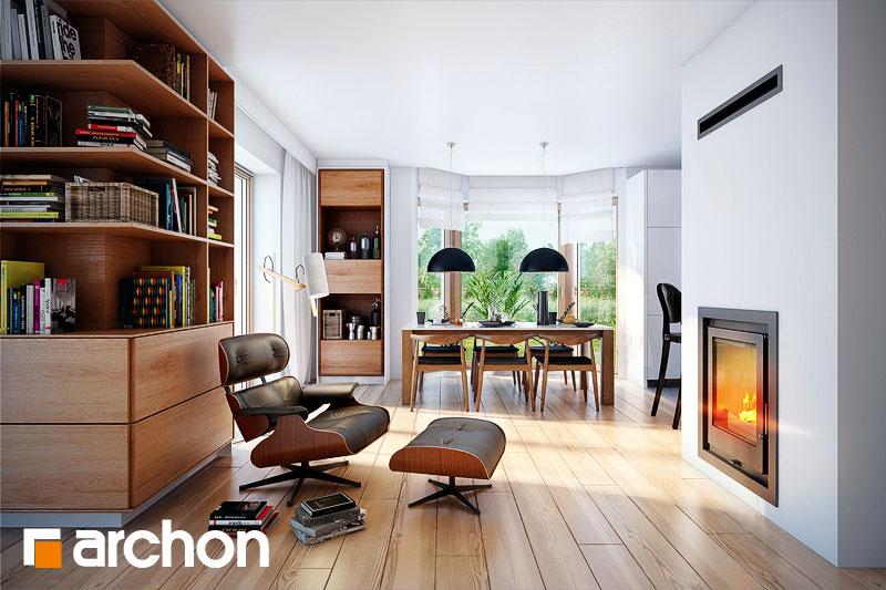 Проект будинку ARCHON+ Будинок в каллатеях 2 ver.2 денна зона (візуалізація 1 від 3)