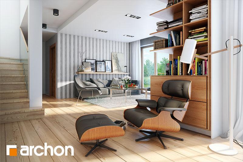 Проект будинку ARCHON+ Будинок в каллатеях 2 вер.2 денна зона (візуалізація 1 від 4)