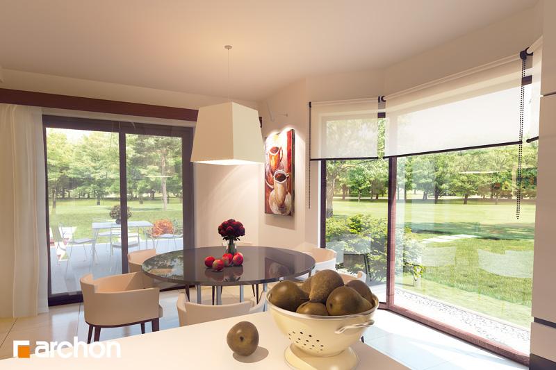 Проект будинку ARCHON+ Будинок в каллатеях 2 ver.2 денна зона (візуалізація 2 від 2)