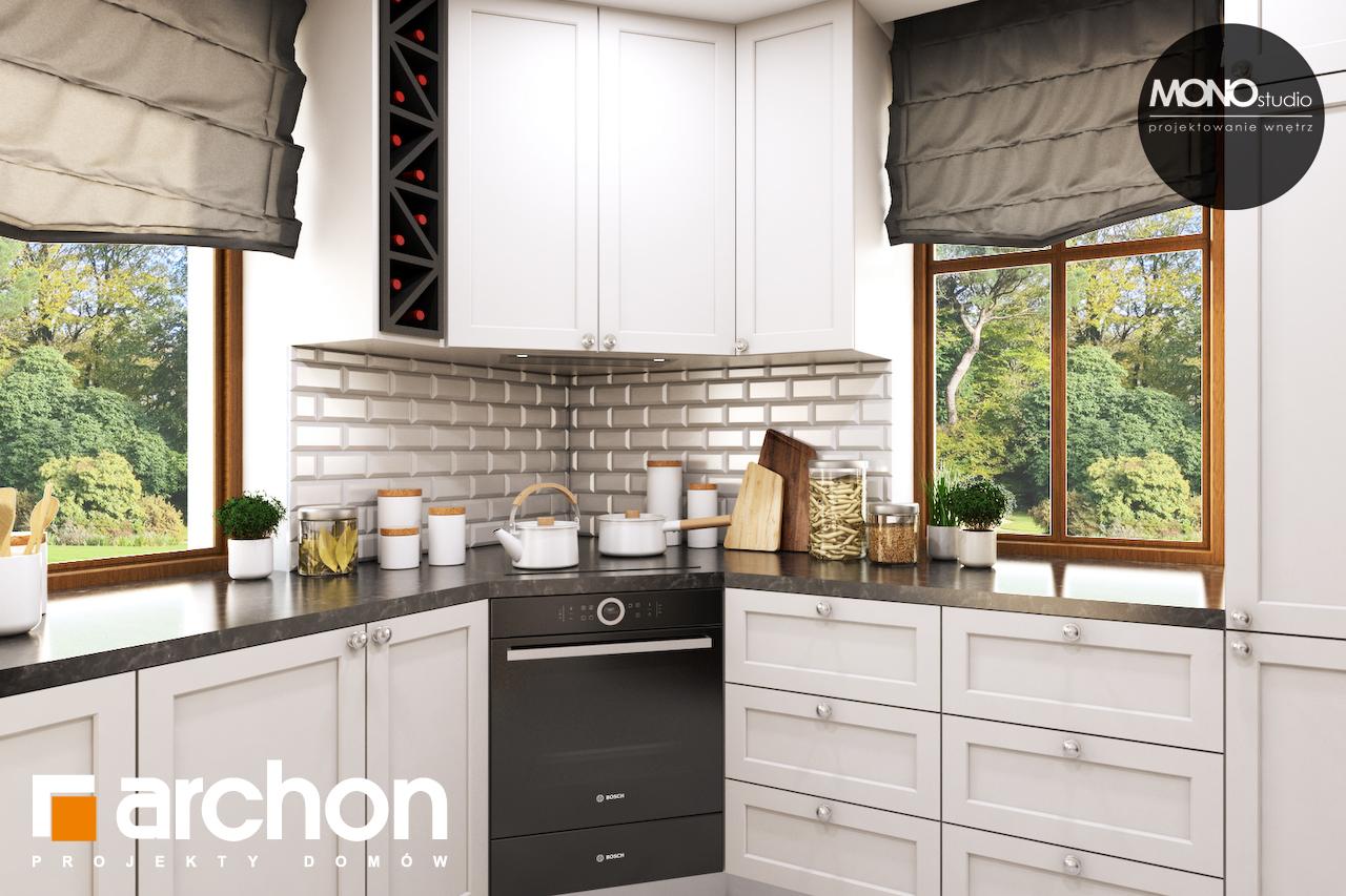 Проект будинку ARCHON+ Будинок в рододендронах 6 (П) візуалізація кухні 1 від 2