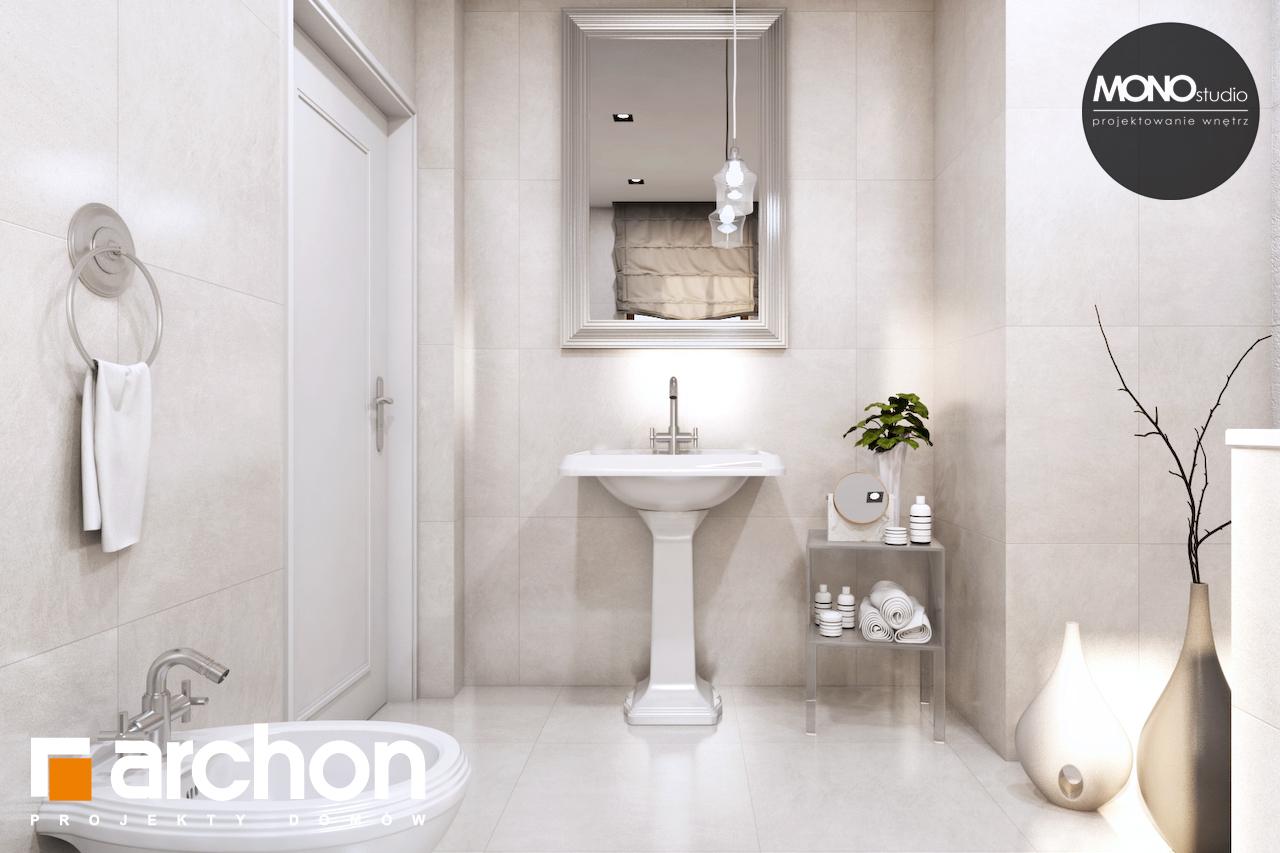 Проект будинку ARCHON+ Будинок в рододендронах 6 (П) візуалізація ванни (візуалізація 3 від 1)