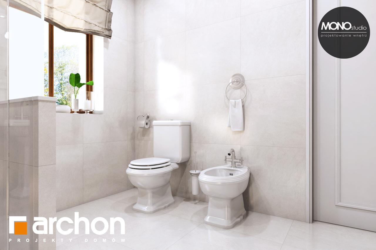 Проект будинку ARCHON+ Будинок в рододендронах 6 (П) візуалізація ванни (візуалізація 3 від 2)