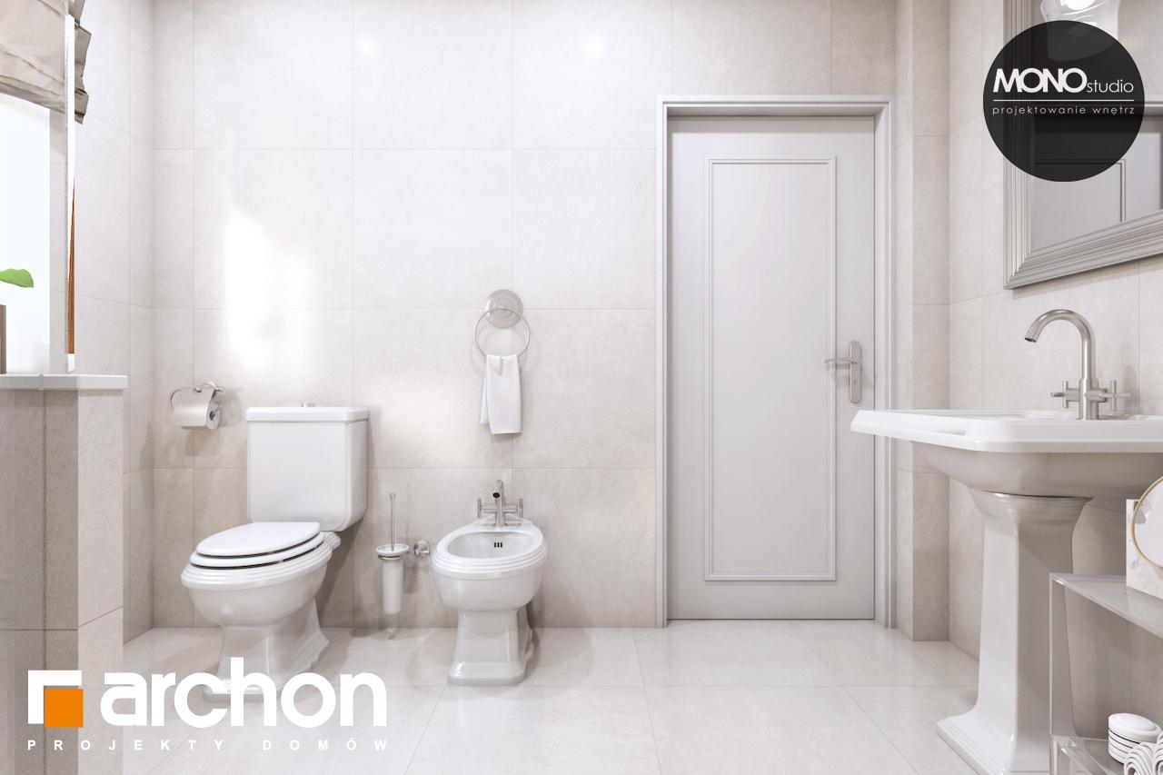 Проект будинку ARCHON+ Будинок в рододендронах 6 (П) візуалізація ванни (візуалізація 3 від 3)