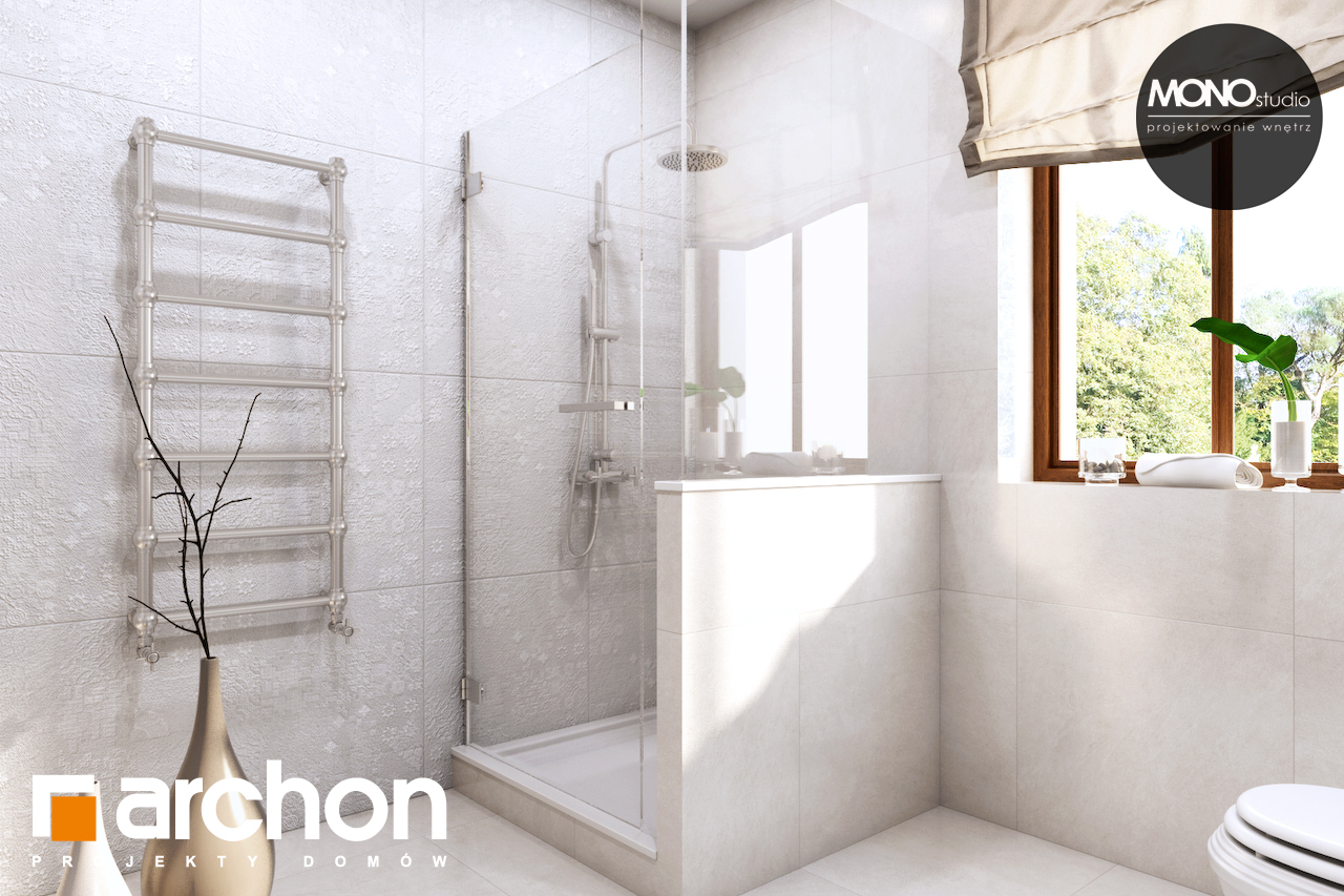Проект будинку ARCHON+ Будинок в рододендронах 6 (П) візуалізація ванни (візуалізація 3 від 4)