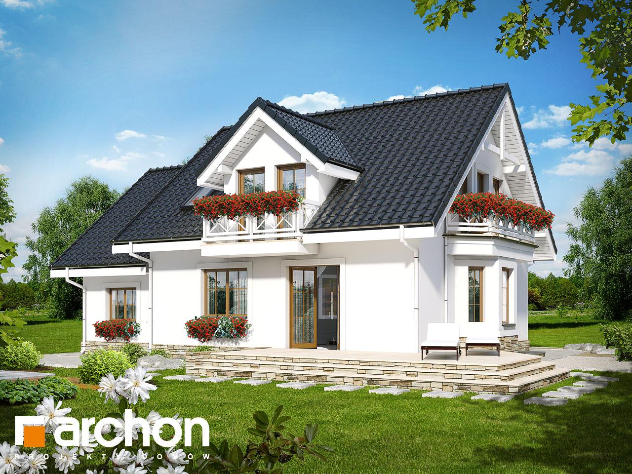 Проект будинку ARCHON+ Будинок в рододендронах 6 (П) Вид 2