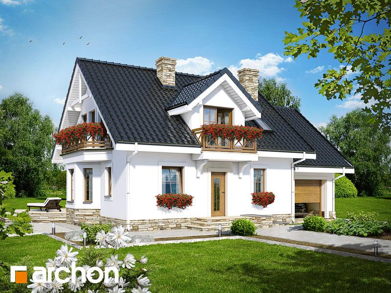 Проект будинку ARCHON+ Будинок в рододендронах 6 (П) Вид 1