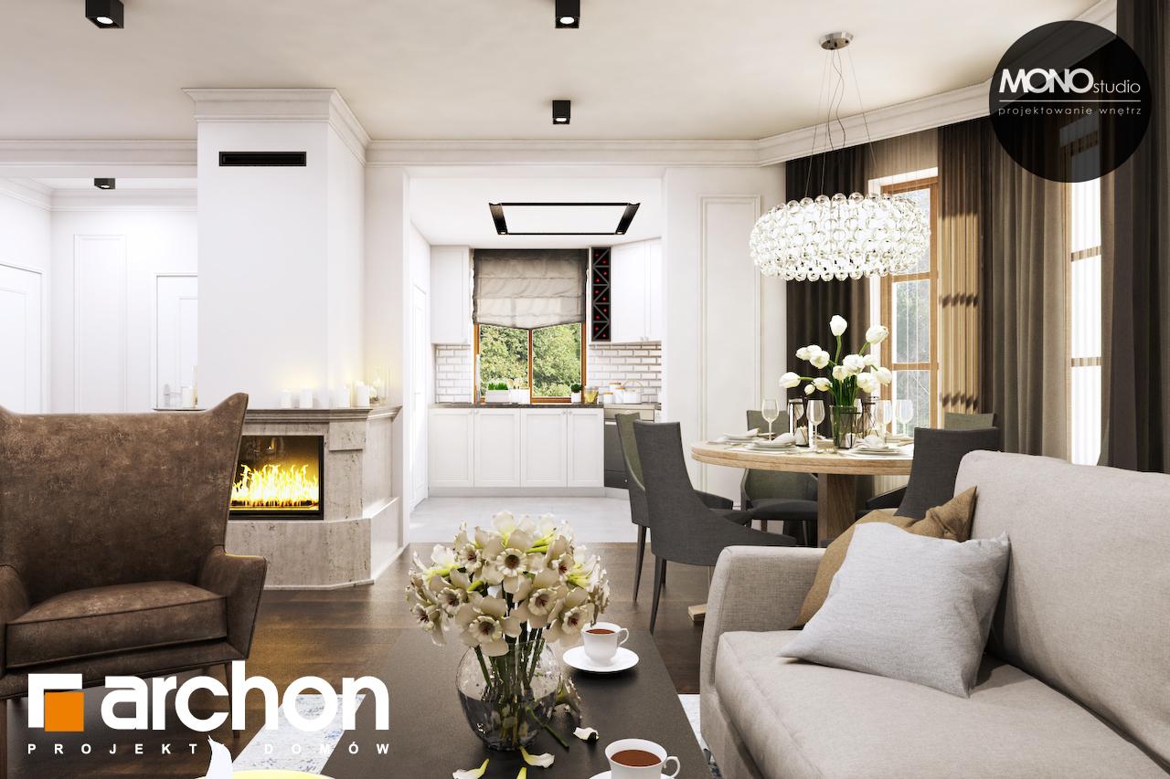 Проект будинку ARCHON+ Будинок в рододендронах 6 (П) денна зона (візуалізація 1 від 6)