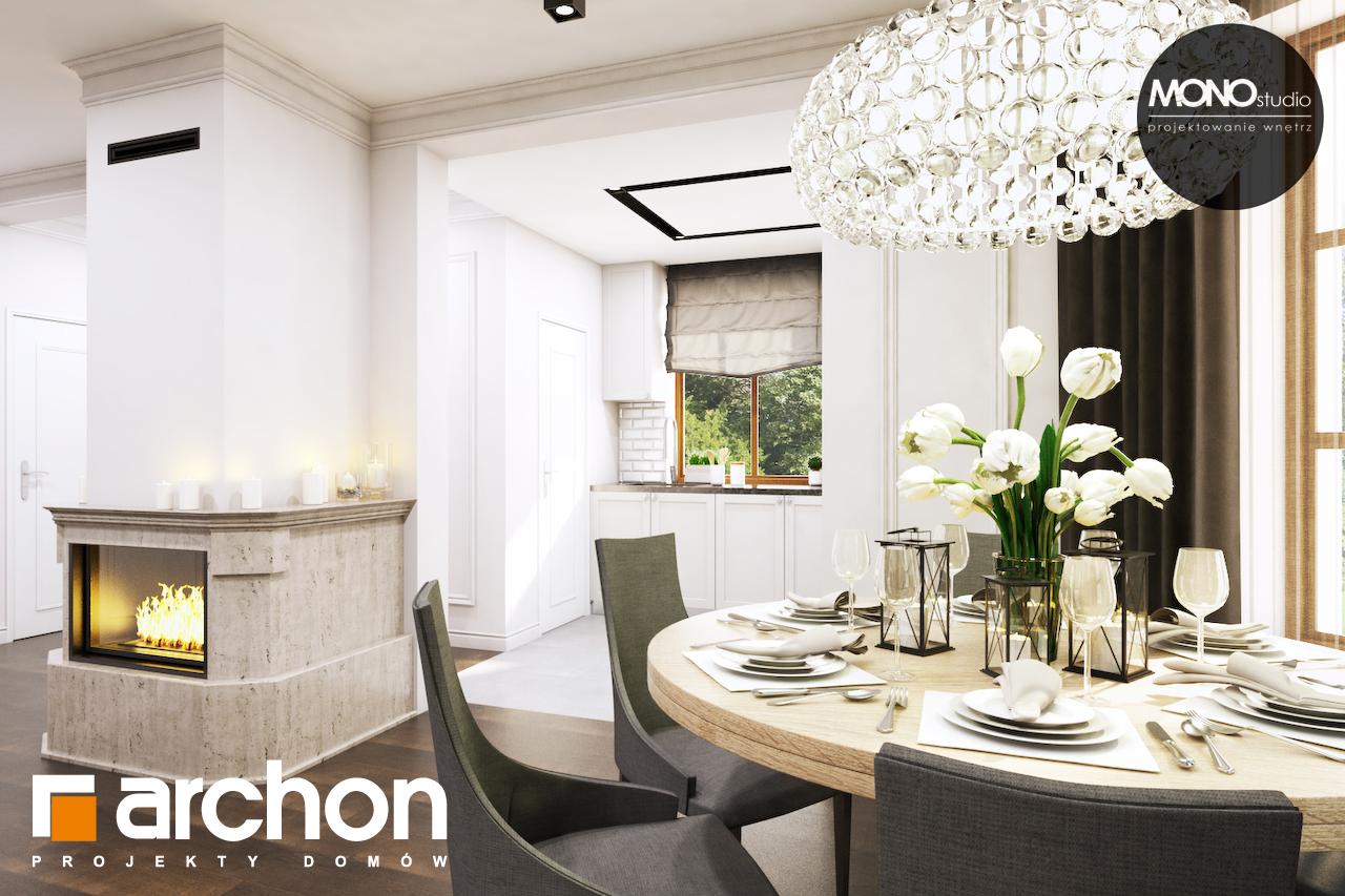 Проект будинку ARCHON+ Будинок в рододендронах 6 (П) денна зона (візуалізація 1 від 7)