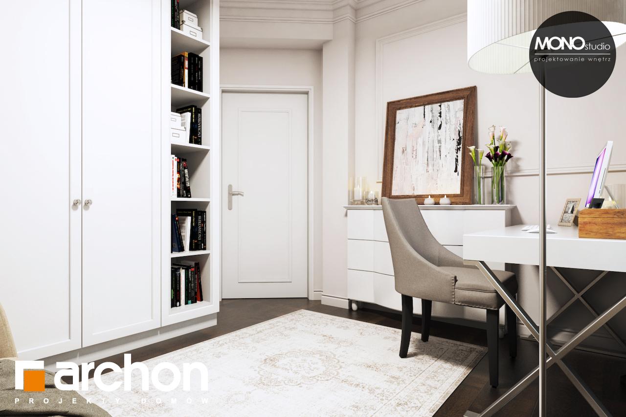 Проект будинку ARCHON+ Будинок в рододендронах 6 (П) денна зона (візуалізація 1 від 10)