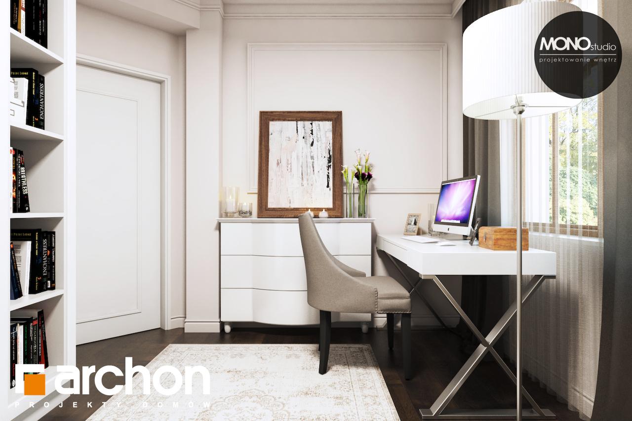 Проект будинку ARCHON+ Будинок в рододендронах 6 (П) денна зона (візуалізація 1 від 11)