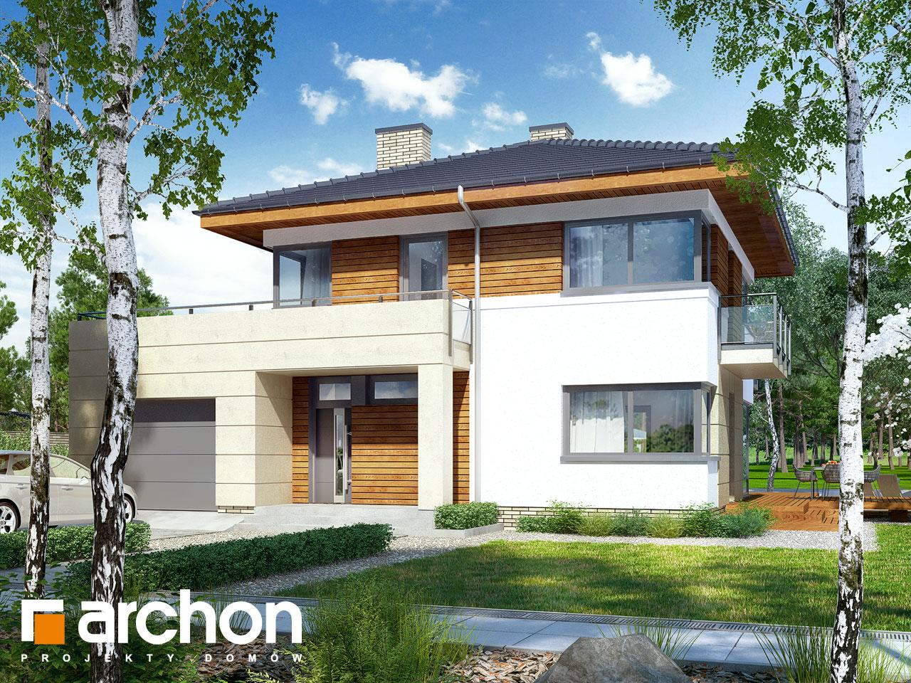 Проект будинку ARCHON+ Вілла Ірма Вид 2