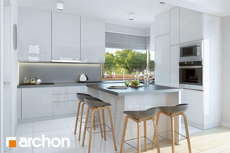 Проект будинку ARCHON+ Будинок в брунерах (Г2) візуалізація кухні 1 від 1